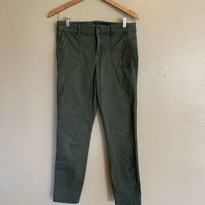 Old Navy | Army Green Utility Pixie Pants | 6 Tall